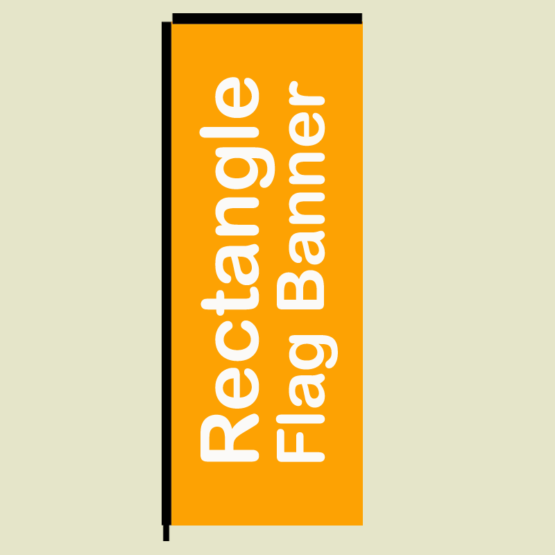 Rectangle Flag Banner