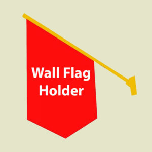Hanging Wall Flag
